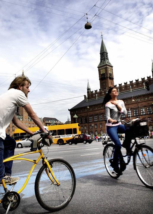 Die Hauptstadt der Radfahrer: Kopenhag... fahrradfreundlichste Stadt  Europas.   | Foto: Wonderful Copenhagen