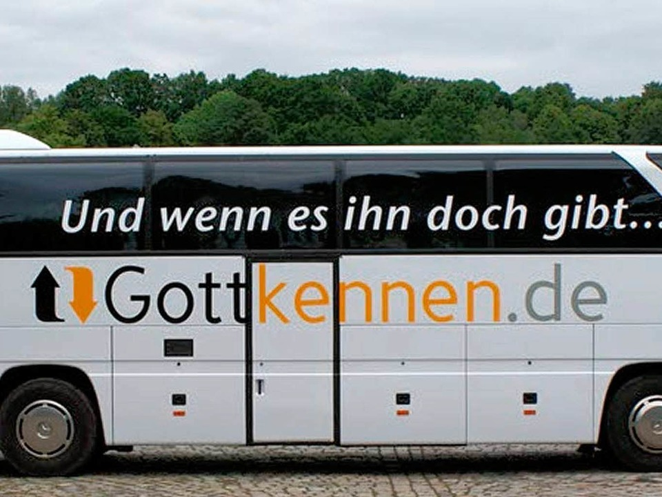 Der Gottkennbus des Vereins Campus für Christus    Foto: BZ