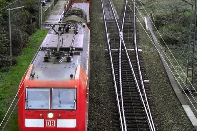 Gezerre um die Rheintalbahn - wann kommt der Gipfel?