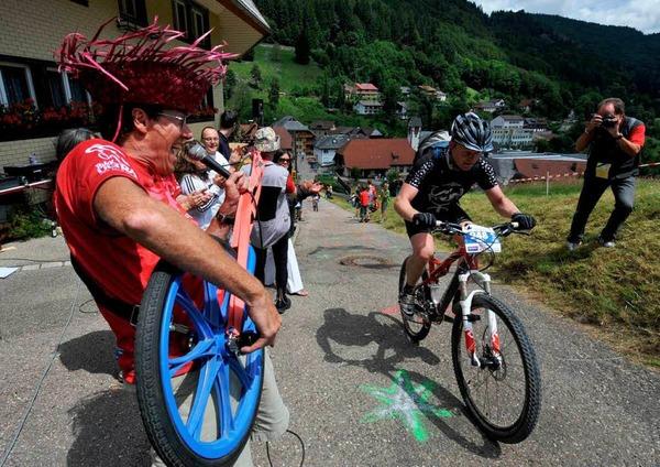 Auf der Strecke vom Black Forest Ultra Bike in und um Kirchzarten
