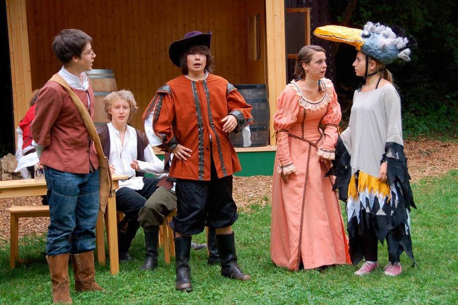 Proben zu Bill Bo und seine Bande - ein herrliches Theatervergnügen! (Foto: Sylvia-Karina Jahn)
