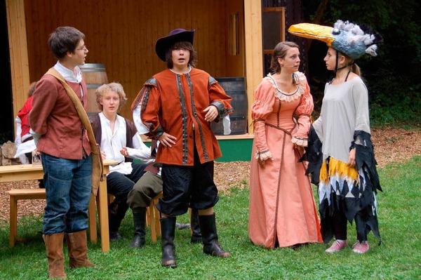 Proben zu Bill Bo und seine Bande - ein herrliches Theatervergnügen!