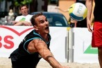 Beach-Volleyball in der Offenburger City