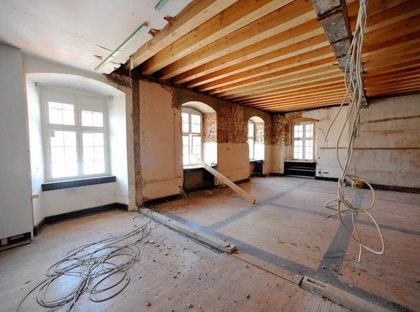 Die Spannung steigt: Im Februar 2010 wird das Augustinermuseum er�ffnet.
