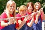 """Fotos aus H�usern: 400 Jugendliche bei """"Spiel-Spa�-Feuerwehr"""""""