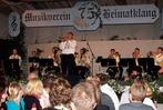 Jubiläumsfeier des MV Heimatklang Hütten