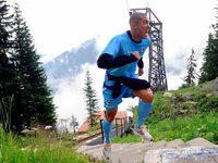Fotos: Hartes Training für den SC Freiburg in Schruns