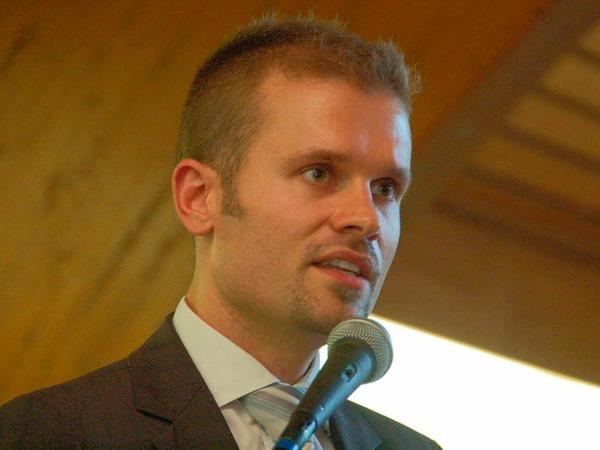Isaaks Nachfolger Christian Ante begrüßte die Gäste.