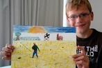 Zisch-Kinder malen wie Vincent van Gogh