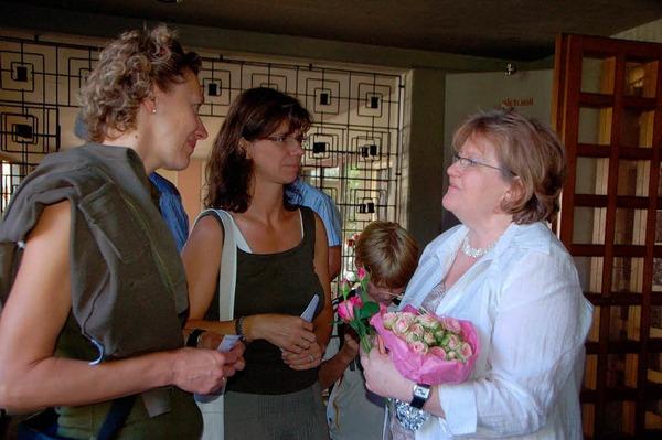Verabschiedung von Schulleiterin Brigitte Preugschat