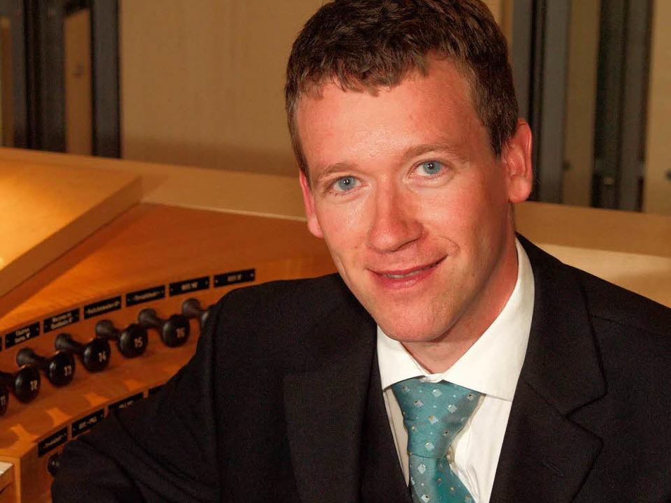 Seit 2005 ist er Nachfolger Paul Damja...ürzburger Domorganist: Stefan Schmidt   | Foto: Pro