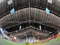 Freiburger Eishalle wird termingerecht fertig