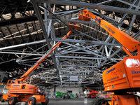 Video: Wie laufen die Arbeiten an der Freiburger Eishalle?