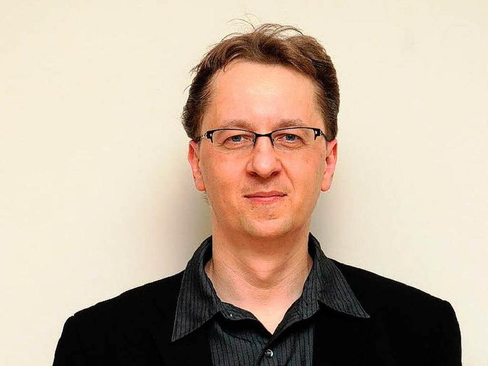 Mindaugas Piecaitis, ltauischer Dirigent und Komponist von Catcerto    Foto: Darija Vasiliauskiene