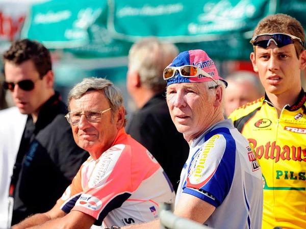 Bilder von der ersten Etappe der Regio Tour.