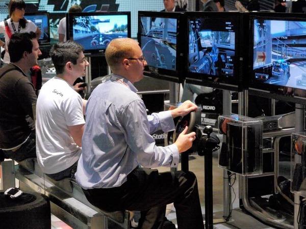 Die wichtigsten Spielesparten, die auf der Gamescom stark vertreten sind: Rennsimulationen