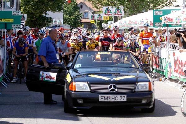 Juniorenradler im Kaiserstuhl: Die Schlussetappe der Rothaus-Regio-Tour.