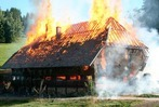 Fotos: Großbrand im Kesslerhof in Hinterzarten