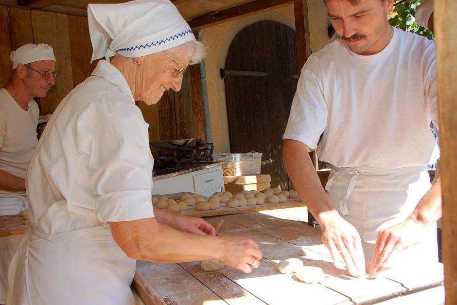 Schnecke-Fescht Pfaffenweiler mit Brauchtumsschau. (Foto: Tanja Bury)