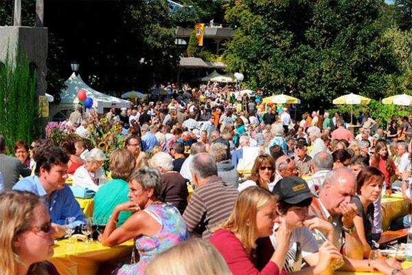 Was die Region kulinarisch zu bieten hat – das wurde am Sonntag in Badenweiler deutlich.