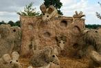 Fotos: Strohskulpturen-Wettbewerb in Höchenschwand