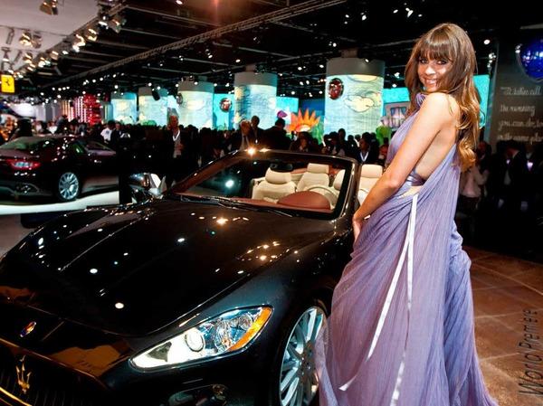 Das Maserati Gran Turismo Cabrio kommt im Fr�hjahr 2010 auf den deutschen Markt