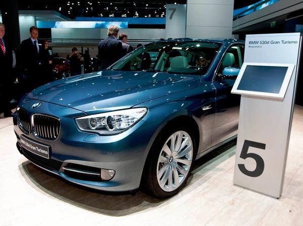 Pr�miere f�r den BMW 5er Gran Tourismo