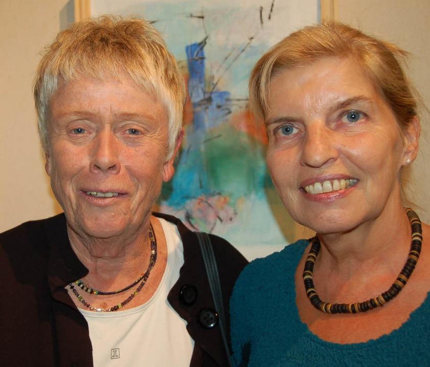 Ausstellung Brigitte Goecke  | Foto: Andrea Steinhart