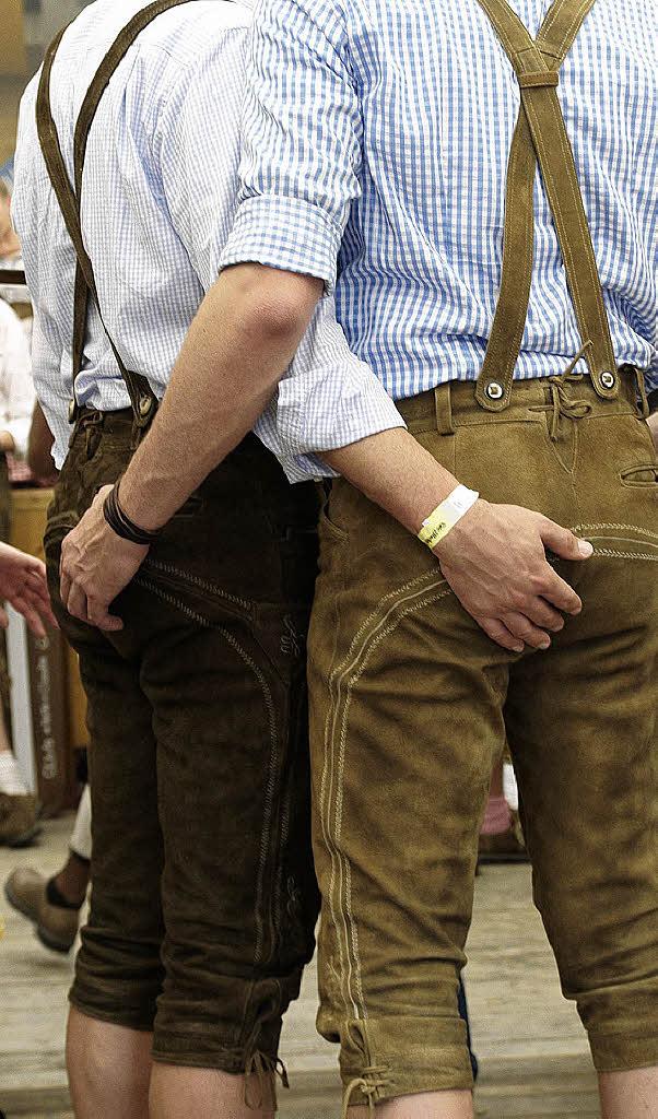 bdsm de männer in lederhosen schwul