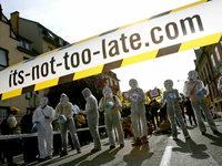Atomkraftgegner demonstrieren friedlich gegen Fessenheim