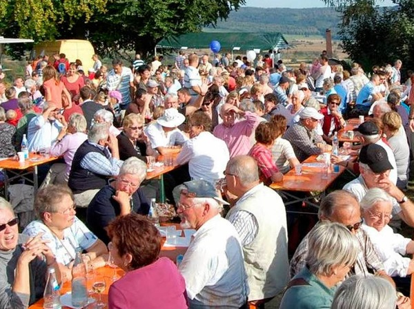Kaiserbergfest unter dem Heubergturm für Jung und Alt