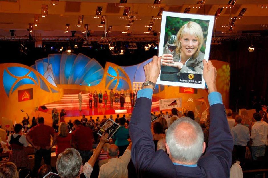 Kippenheimer Fans unterstützen Isabell  Kindle bei der Vorentscheidung inHeilbronn. (Foto: Klaus Fischer)