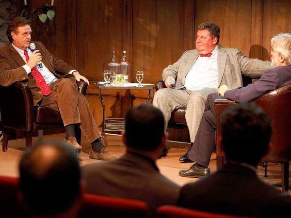 Roland Mack, Christian Hodeige und Thomas Hauser