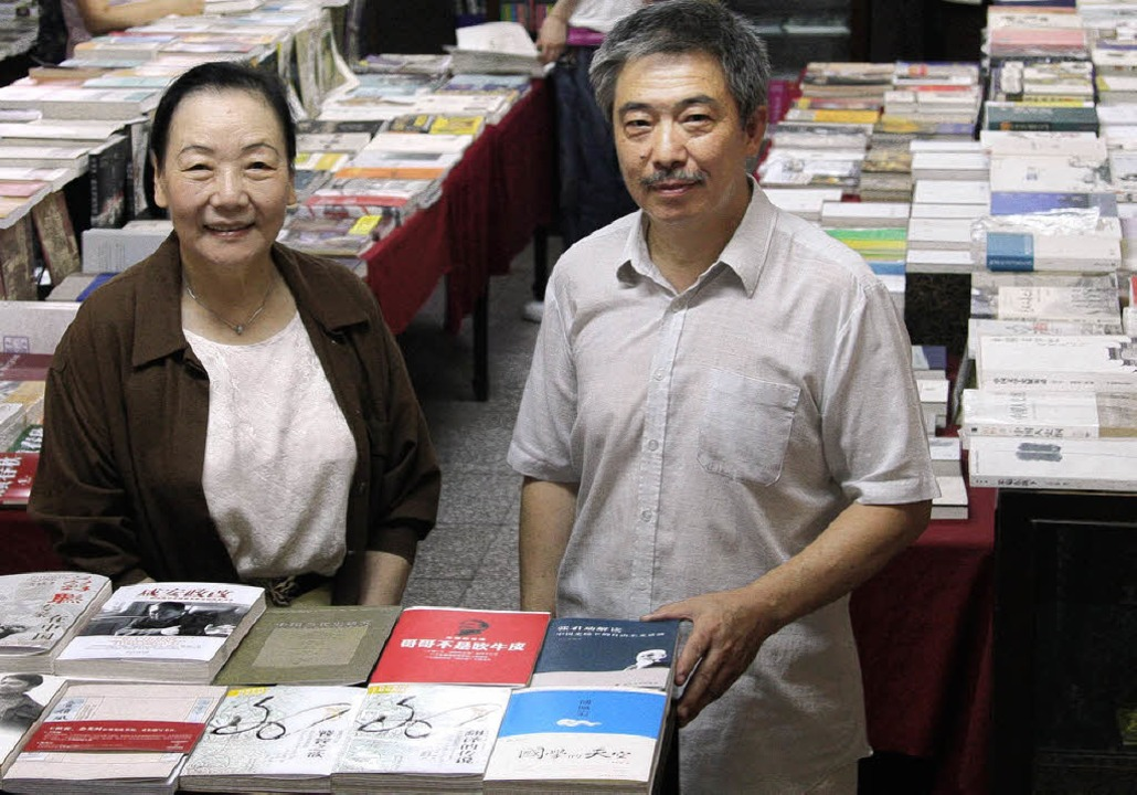 Mutter Courage: Ladengründerin Liu, Gemahl   | Foto: Bartsch