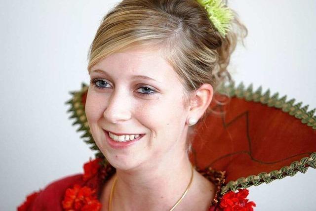 Marion I. ist die neue Lahrer Chrysanthemenkönigin