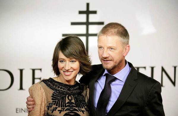 Schauspielerin und Hauptdarstellerin Johanna Wokalek und der Regisseur Sönke Wortmann.