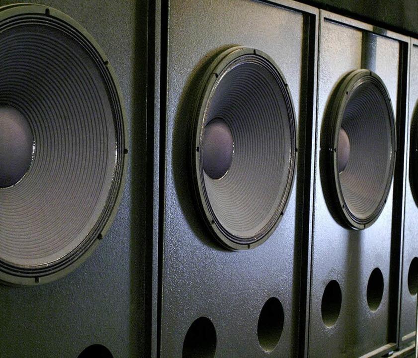 Dubstep braucht große Bass-Boxen.   | Foto: Fotolia