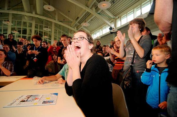 Impressionen von der ersten Weltmeisterschaft im Speedpuzzle, die im B�rgerhaus Seepark entschieden wurde