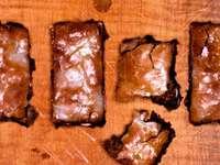 Honiglebkuchen mit Haselnüssen
