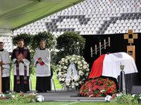 Bewegende Trauerfeier für Achim Stocker im SC-Stadion