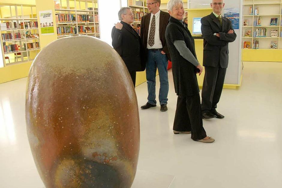 Impressionen von der offiziellen Eröffnungsveranstaltung der neuen Stadtbibliothek Rheinfelden (Foto: Ingrid Böhm-Jacob)