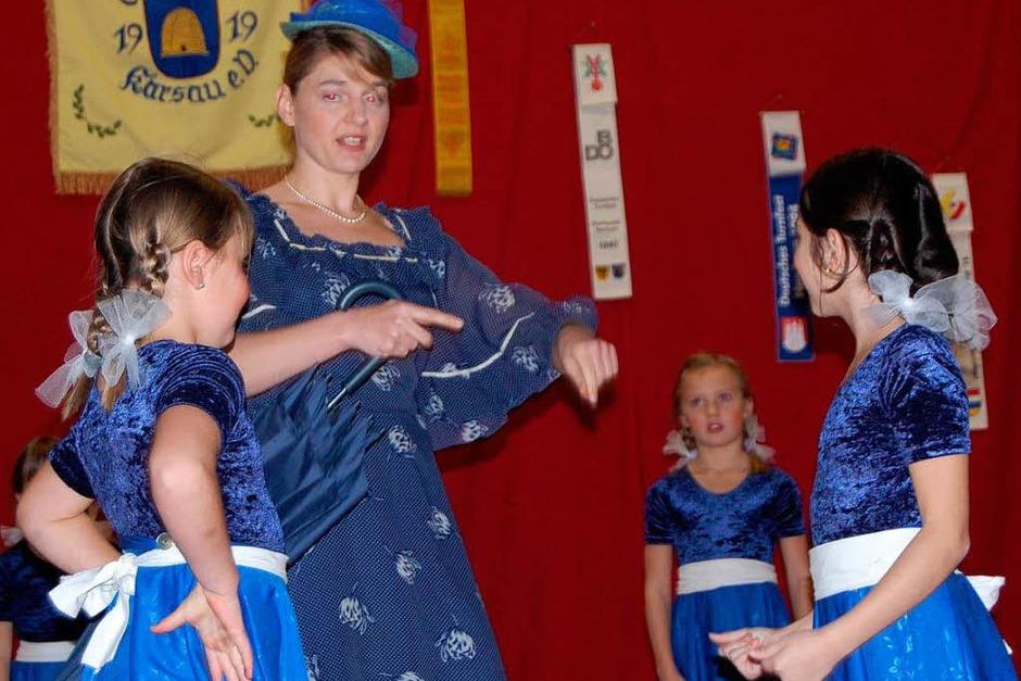 Marry Poppins begeisterte mit ihren Kindern und einer tollen Vorstellung (Foto: Manfred Risch)