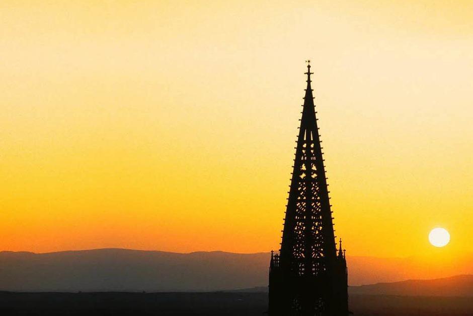 Der Turm des Freiburger Münsters besticht durch filigrane Leichtigkeit. (Foto: FWTM)