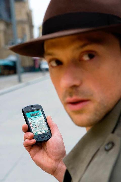 Mister X auf der Flucht: Sind die Detektive schon in Sicht?   | Foto: Telekom
