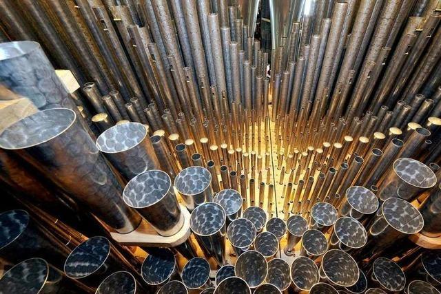 Waldkircher Orgelbauer ziehen auch für China alle Register