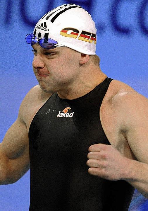 Ein echter Pfundskerl: 99-Kilo-Athlet Johannes Dietrich    | Foto: dpa