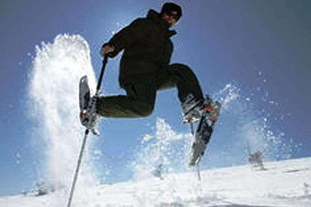 Ski und Rodel gut fast nur auf dem Feldberg