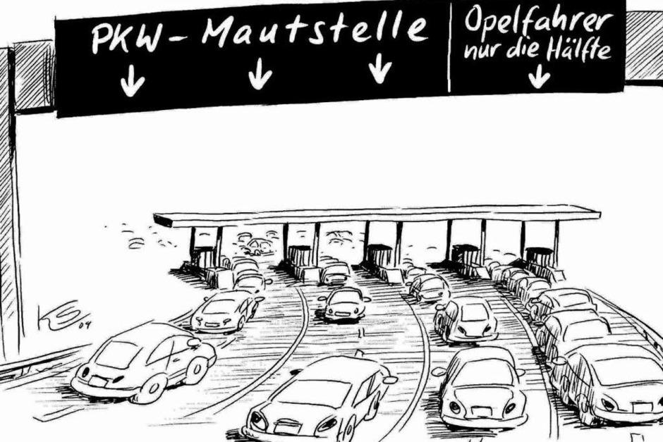Opel-Krise (Foto: Stuttmann)