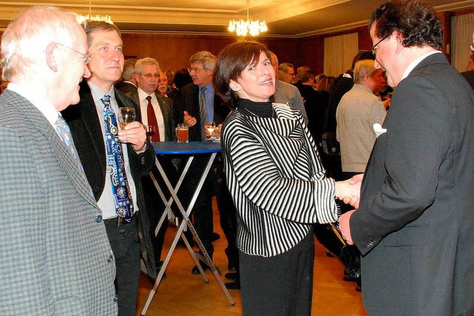 Hauptamtsleiterin Ingrid Aßfalg und Wirtschaftsförderer Wilhelm Stoll (Foto: Ralf Staub)