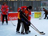 Eishockey macht einen Riesenspaß